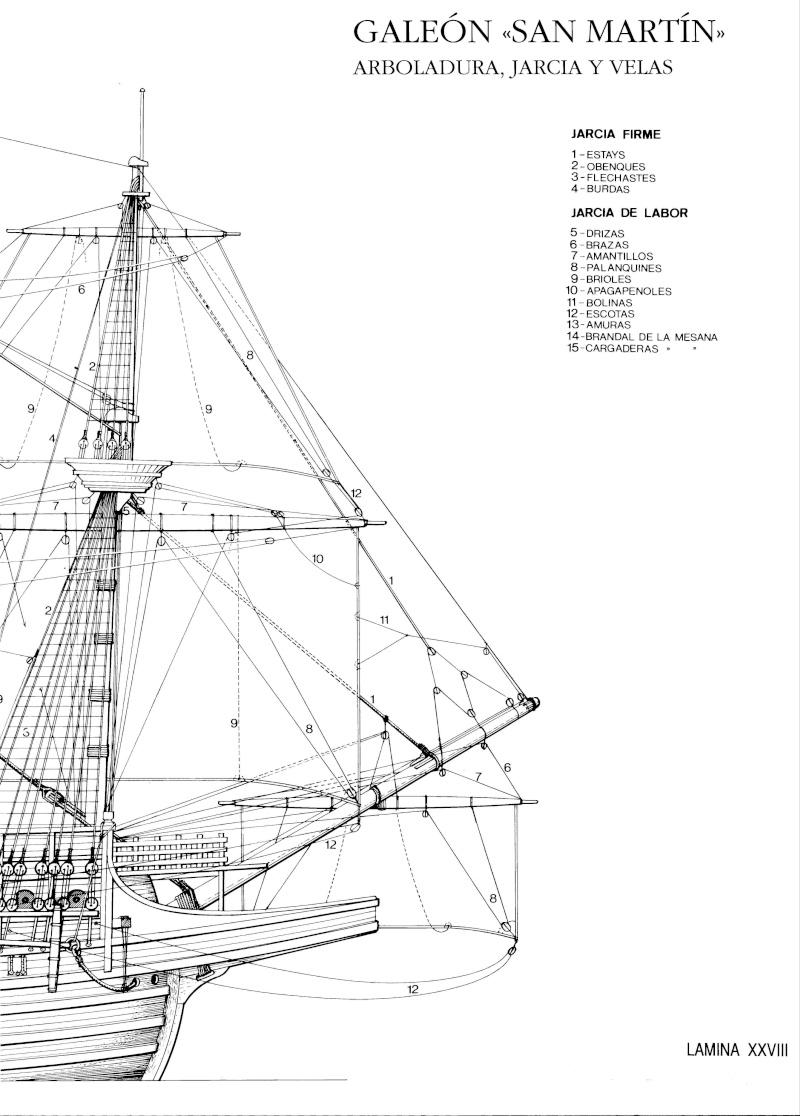 HMAV Bounty de Del prado au 1/48ème - Page 10 Galeon25