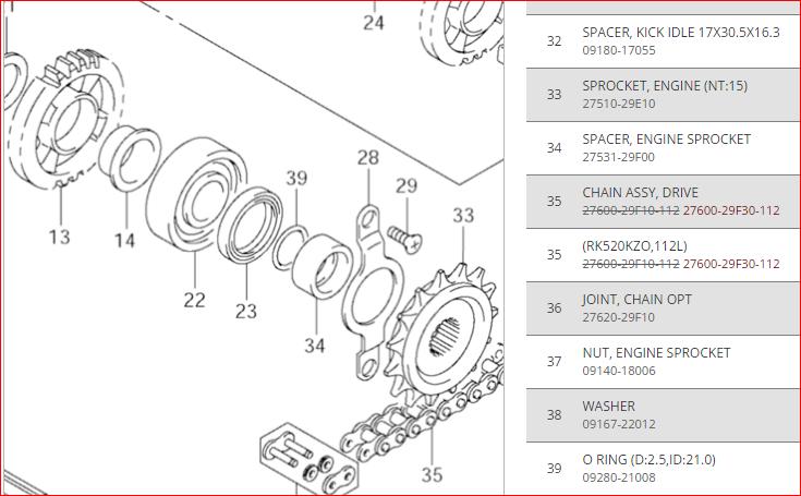 Fuite à sortie d'arbre de boite 400 DRZ Captur11