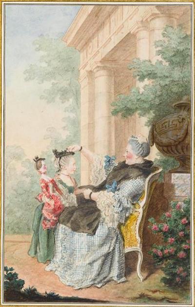 Mannequins et poupées de mode au XVIIIe siècle 05-53110