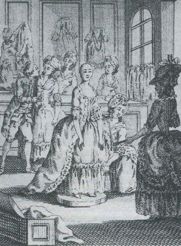 Mannequins et poupées de mode au XVIIIe siècle Manneq12