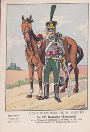 Hussard du 13è régiment Bacciochi 1813 072_0011