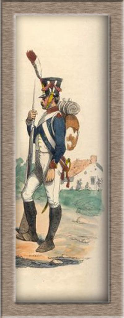 Grenadier 15e régiment Infanterie de la ligne Espagne 1807 MM 54m (modifications)  24696910