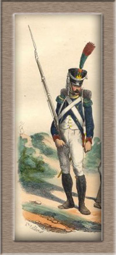 Grenadier 15e régiment Infanterie de la ligne Espagne 1807 MM 54m (modifications)  24696911