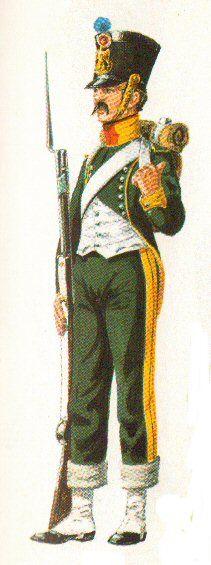 Grenadier 15e régiment Infanterie de la ligne Espagne 1807 MM 54m (modifications)  53027a10