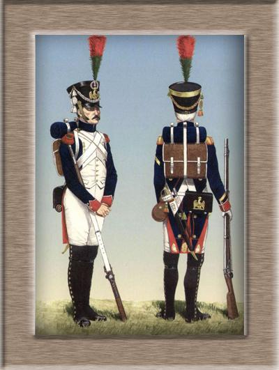 Grenadier 15e régiment Infanterie de la ligne Espagne 1807 MM 54m (modifications)  68f72310