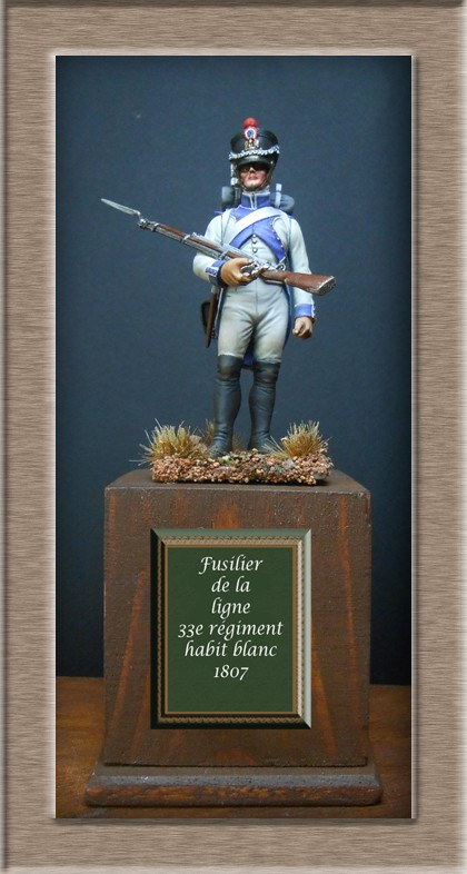 Grenadier 15e régiment Infanterie de la ligne Espagne 1807 MM 54m (modifications)  - Page 18 74_27110