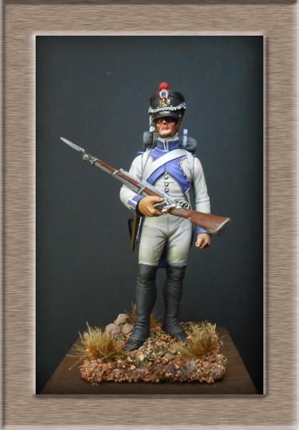 Grenadier 15e régiment Infanterie de la ligne Espagne 1807 MM 54m (modifications)  - Page 18 74_27211
