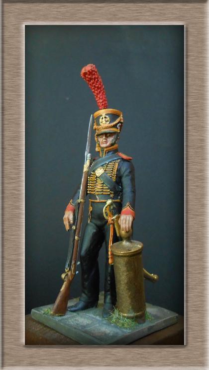 Grenadier 15e régiment Infanterie de la ligne Espagne 1807 MM 54m (modifications)  74_28710