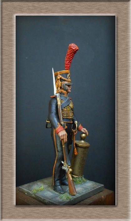 Grenadier 15e régiment Infanterie de la ligne Espagne 1807 MM 54m (modifications)  74_28811