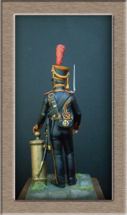 Grenadier 15e régiment Infanterie de la ligne Espagne 1807 MM 54m (modifications)  74_28814