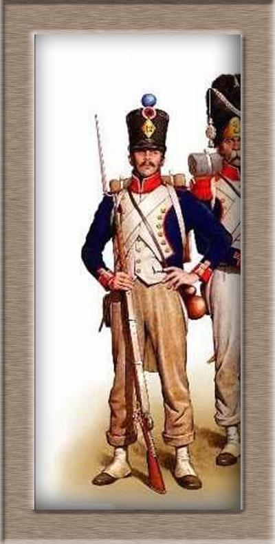 Grenadier 15e régiment Infanterie de la ligne Espagne 1807 MM 54m (modifications)  - Page 2 Aa427b10