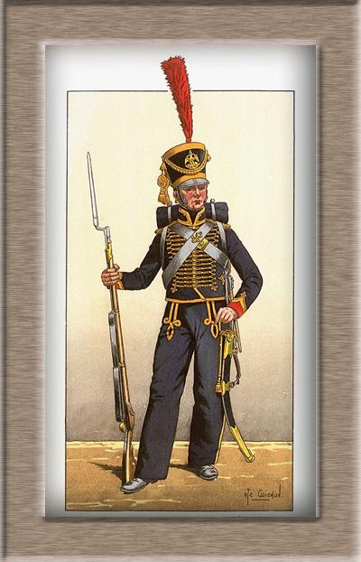 Grenadier 15e régiment Infanterie de la ligne Espagne 1807 MM 54m (modifications)  B6aae210