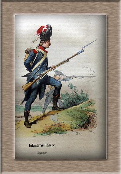 Grenadier 15e régiment Infanterie de la ligne Espagne 1807 MM 54m (modifications)  Carabi10