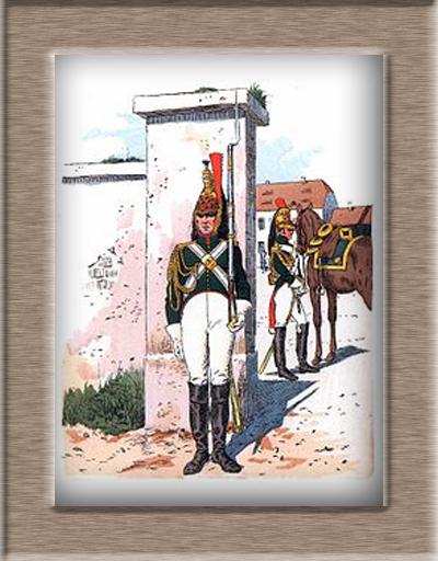 Grenadier 15e régiment Infanterie de la ligne Espagne 1807 MM 54m (modifications)  Dragon10