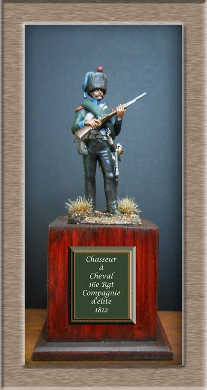 Chasseur à Cheval 16e régiment Compagnie d'élite 1812 Dscn5124