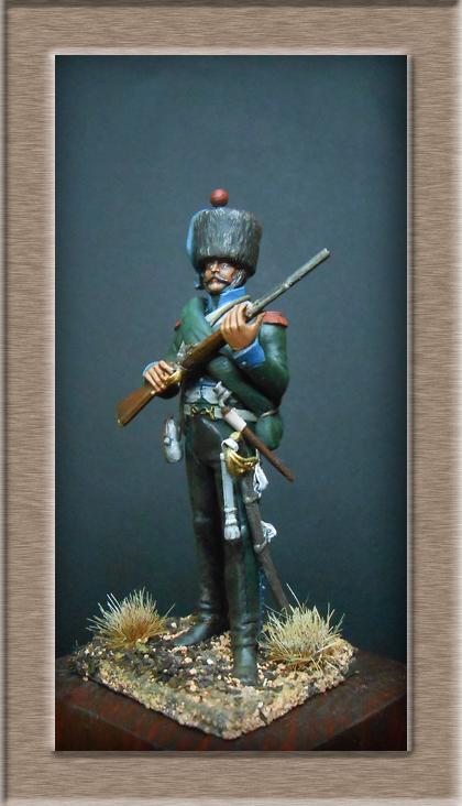 Chasseur à Cheval 16e régiment Compagnie d'élite 1812 Dscn5126