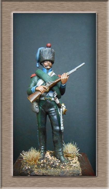 Chasseur à Cheval 16e régiment Compagnie d'élite 1812 Dscn5127
