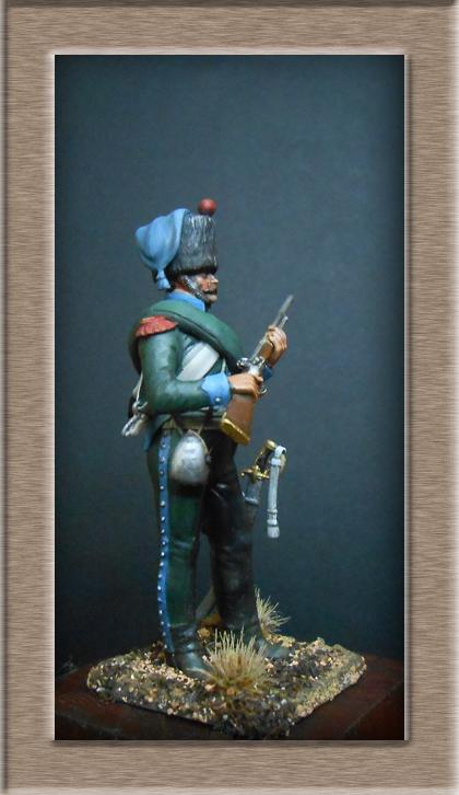 Chasseur à Cheval 16e régiment Compagnie d'élite 1812 Dscn5129