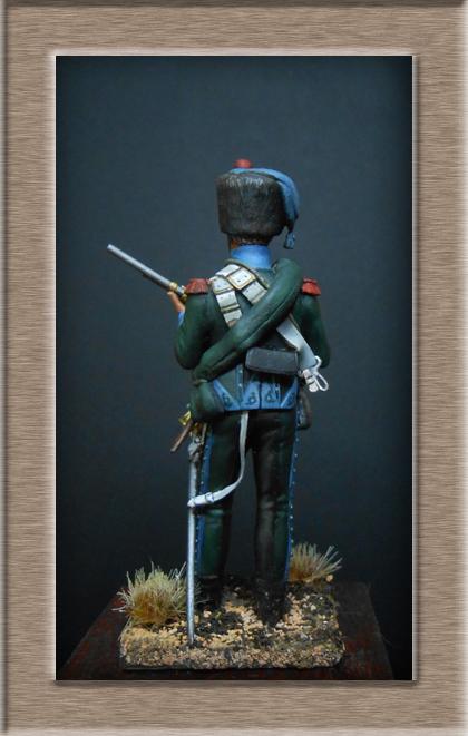 Chasseur à Cheval 16e régiment Compagnie d'élite 1812 Dscn5211