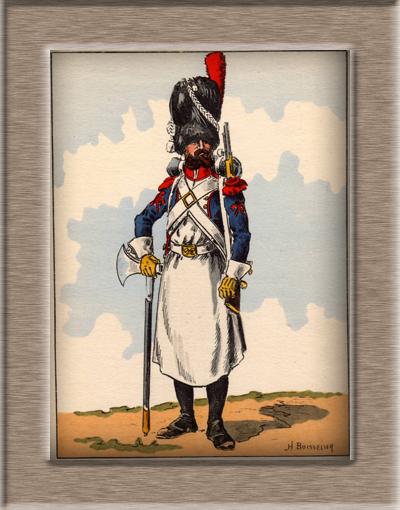 Grenadier 15e régiment Infanterie de la ligne Espagne 1807 MM 54m (modifications)  - Page 2 Sapeur10