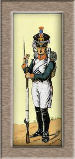 Grenadier 15e régiment Infanterie de la ligne Espagne 1807 MM 54m (modifications)  Tylych10