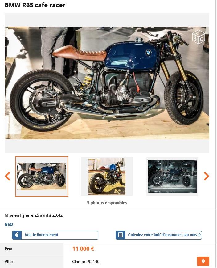 R100RS Café Racer Brat Style Franch10