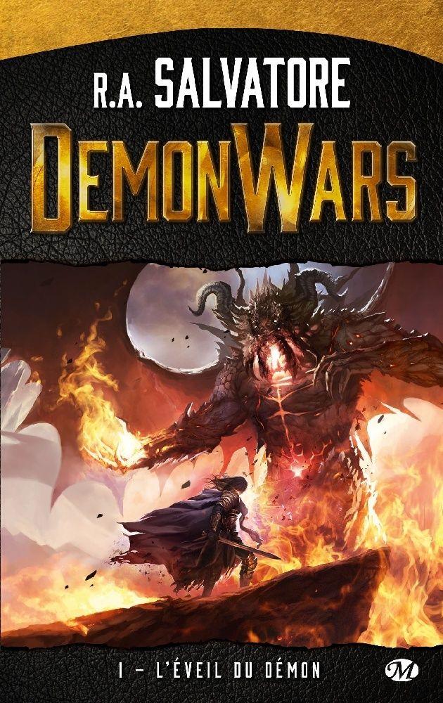 SALVATORE R. A. - Demonwars - Tome 1 : L'éveil du démon 01-16-10
