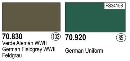 """Kübelwagen Crew """"Chauffeur"""" 120mm Verlinden (Acryliques) FINI! - Page 3 Couleu10"""