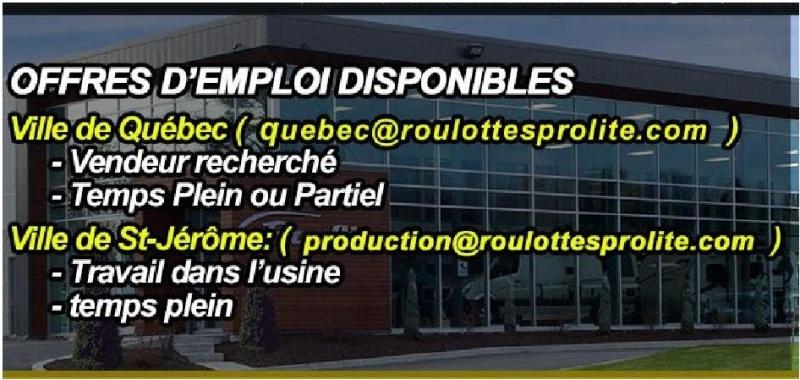 Emploi chez Prolite Job_pr10