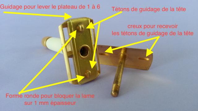 Transformation Hybridation d'un Gibbs Ajustable pour utiliser des lames standards ... 2cfqpe10