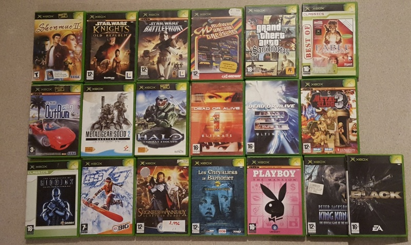 [VDS] jeux xbox one + xbox 360 + xbox 20160413