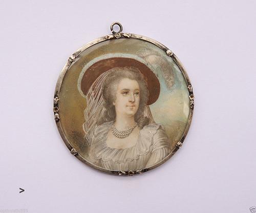 Miniature de Madame de Polignac d'après Madame Vigée Lebrun Tumblr11