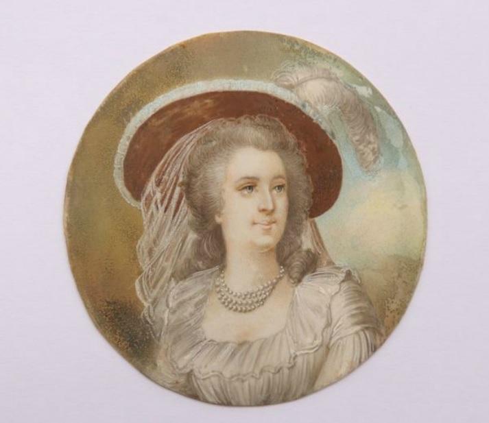 Miniature de Madame de Polignac d'après Madame Vigée Lebrun Zmac11