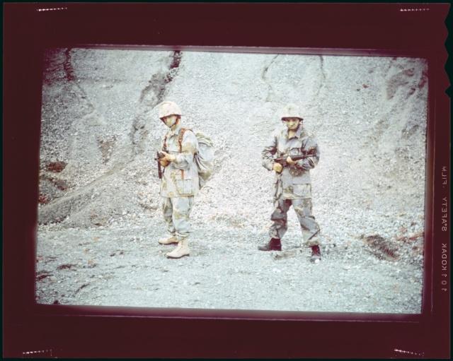 """Desert uniforms (DCU) - DESERT 6 colors """"Chocolate chip""""  dated 1984 Desert10"""