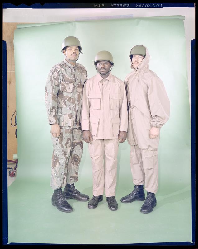 """Desert uniforms (DCU) - DESERT 6 colors """"Chocolate chip""""  dated 1984 Desert11"""