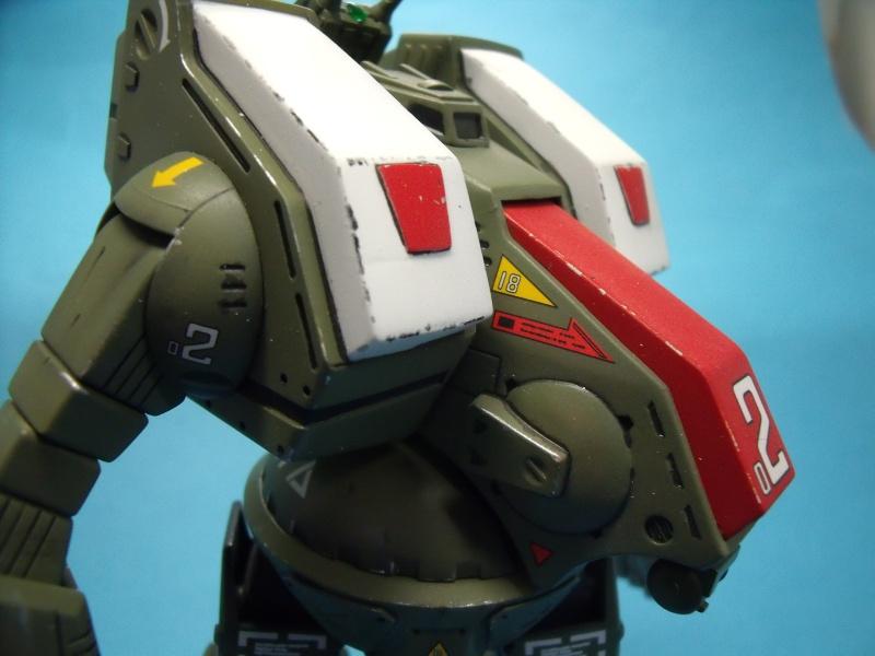 """Macross """"Destroid spartan  MBR-07 MKII 1/72 bandai 2016_026"""