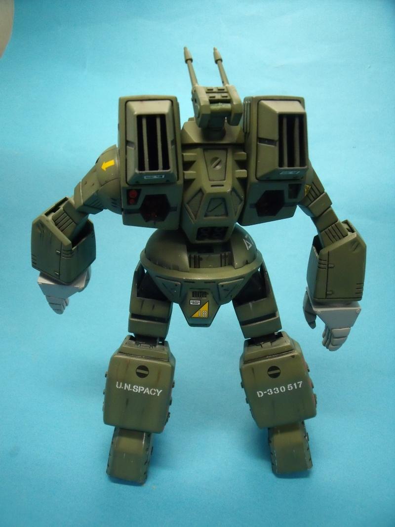 """Macross """"Destroid spartan  MBR-07 MKII 1/72 bandai 2016_028"""