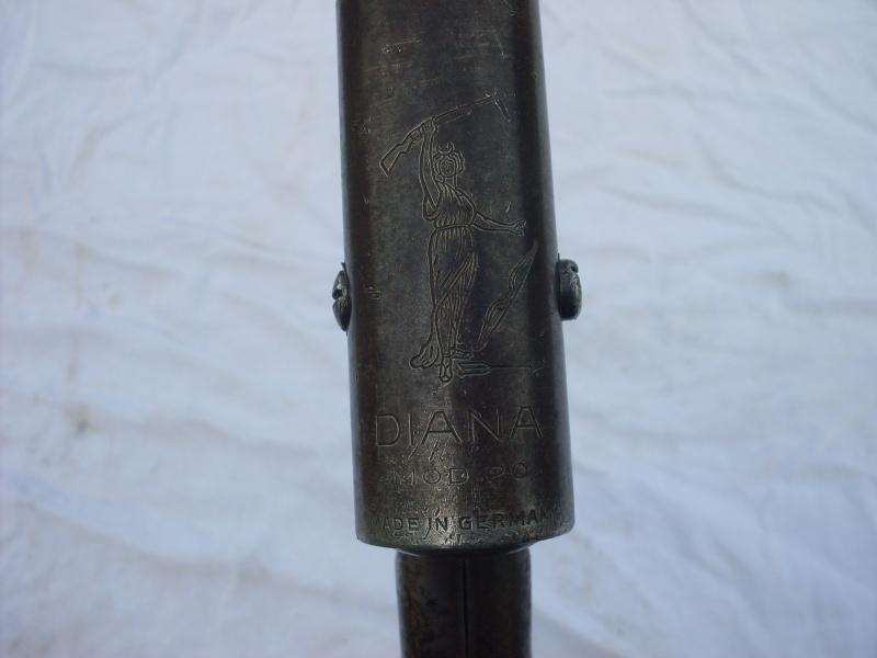 ancienne carabine diana  mod 20 a air comprimé. Sdc12021