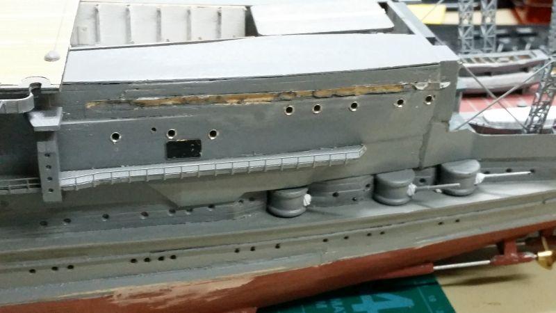 JPN Flugzeugträger AKAGI1:250 von DE AGOSTINI gebaut von Arrowsmodell - Seite 9 20160430