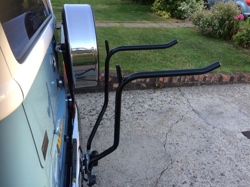 rack - Towbar bike rack with spare wheel clearance Img_1912