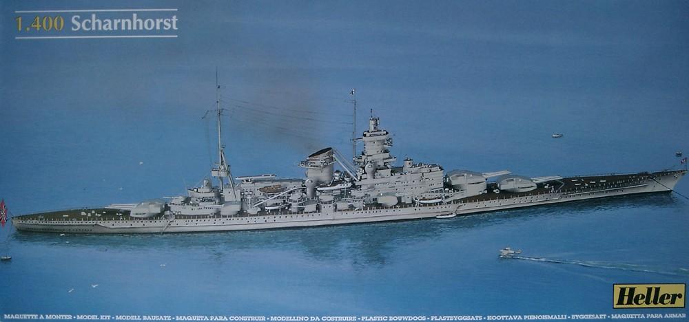 Croiseur de bataille SCHARNHORST 1/400ème Réf L 1035 Scharn10