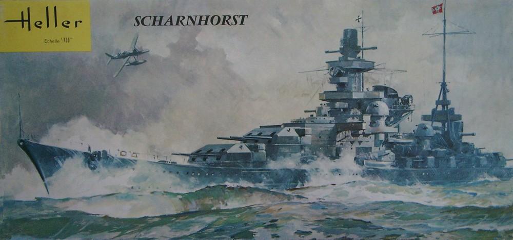 Croiseur de bataille SCHARNHORST 1/400ème Réf L 1035 Scharn11