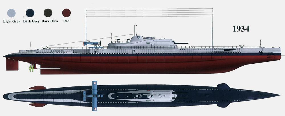 sous-marin Surcouf 1936 Surcou23