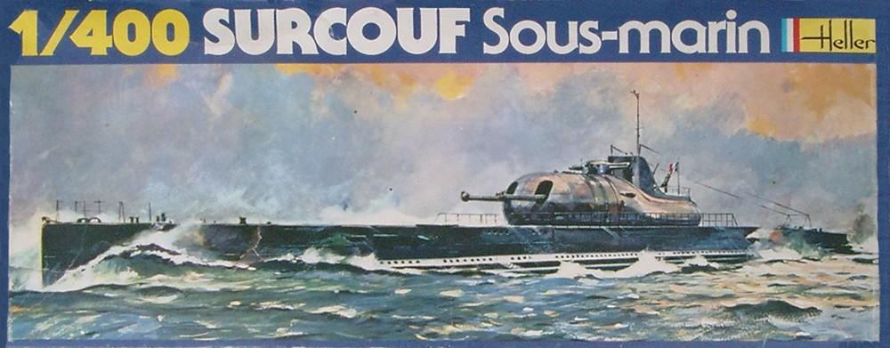 Croiseur sous-marin SURCOUF 1/400ème Réf 81014 Surcou40