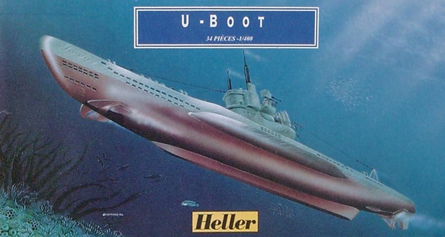 Sous-marin U-BOOT Type VII C 1/400ème réf JUNIOR X, 1072 & 81002 U-boot12
