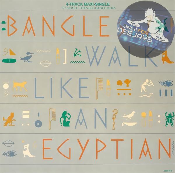 The Bangles - Walk like an egyptian (12'' Vinil)[1986] Fronta23