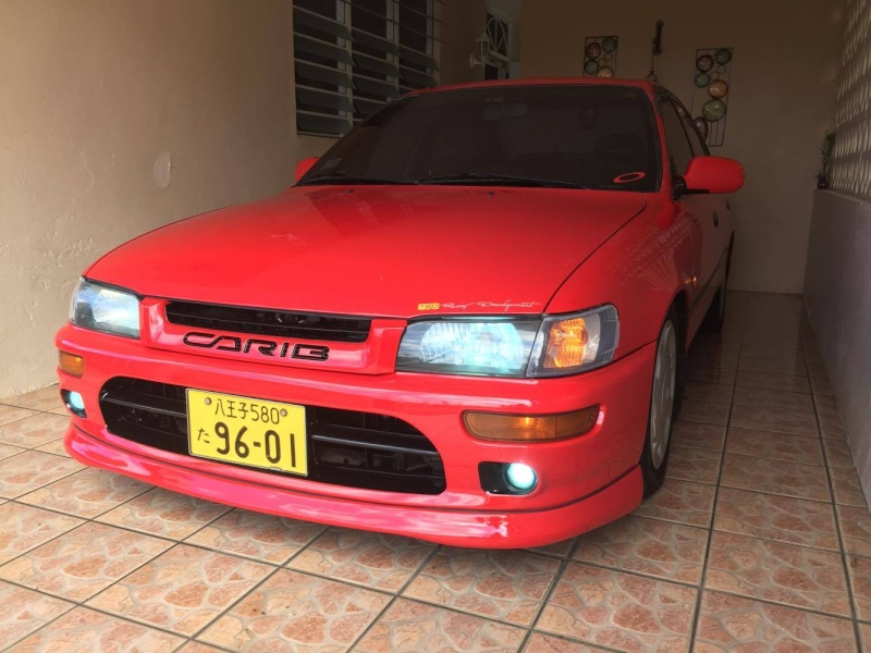 My Corolla Red from Puerto Rico 13010110