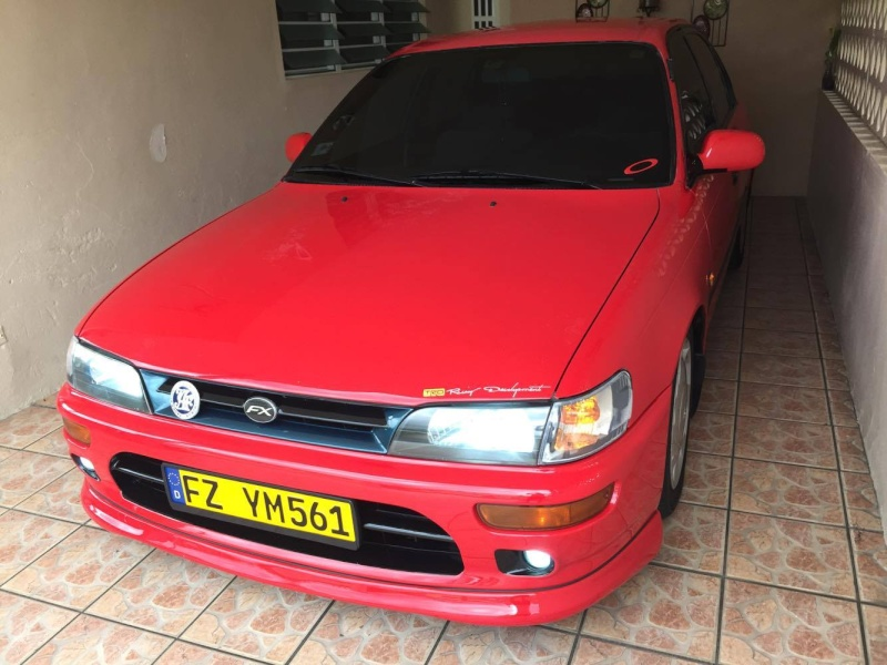 My Corolla Red from Puerto Rico 13129010