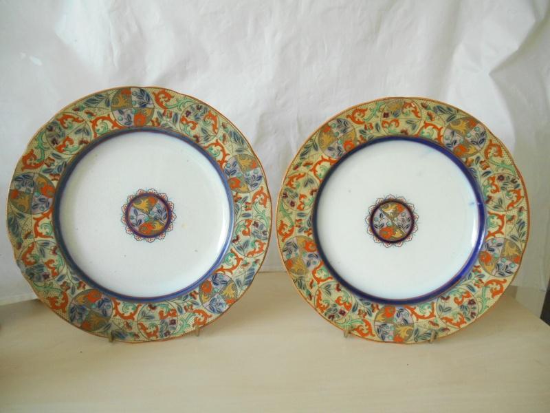 Enamel like & Cobalt antique plates, Any ideas on maker and date please? Dscn0110