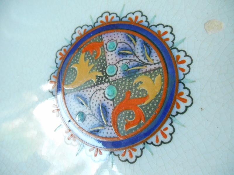 Enamel like & Cobalt antique plates, Any ideas on maker and date please? Dscn0220